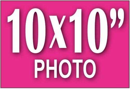 10x10 Photo Print