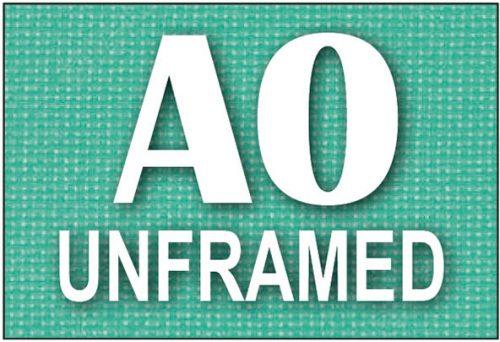 A0 Unframed Canvas