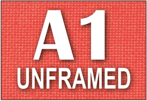 A1 Unframed Canvas