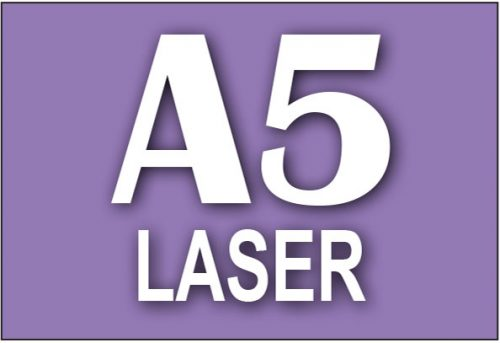 A5 Laser Printing