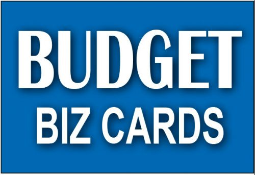 Budget Business Cards