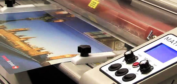 A4 & A3 laminated printing