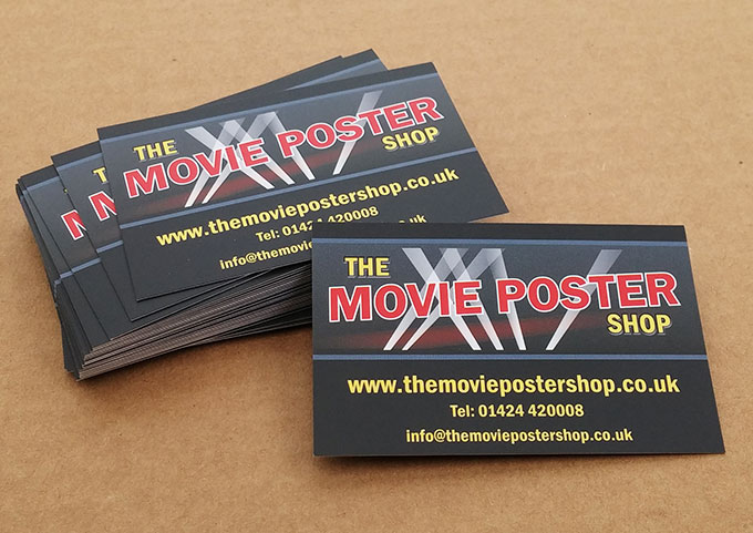 Business cards printing online full colour single or double matt business cards reheart Choice Image
