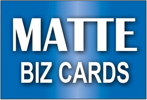 Matt Business Cards