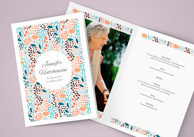Order of Service Booklets
