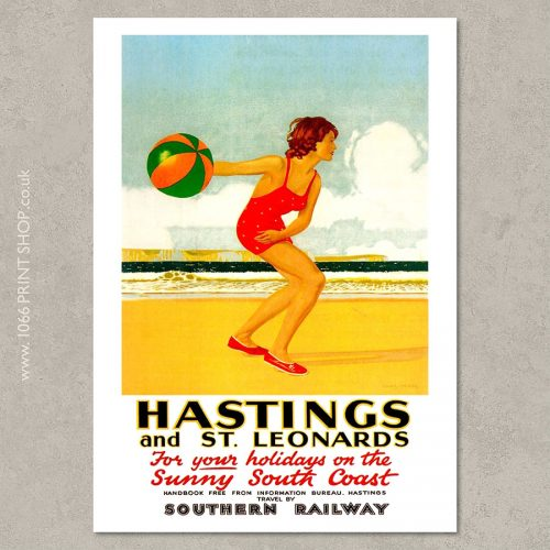 SR Hastings & St Leonards Poster