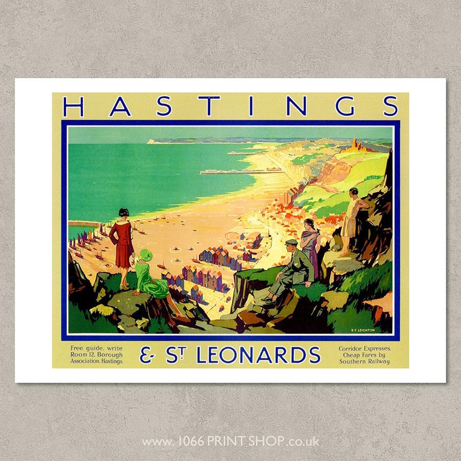 SR Hastings & St Leonards Poster