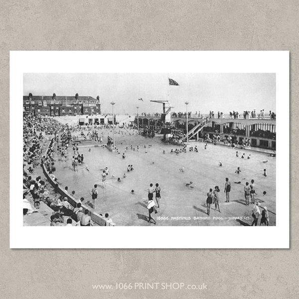 St Leonards Bathing Pool 1947